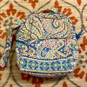 Retro Vera Bradley backpack; good condition